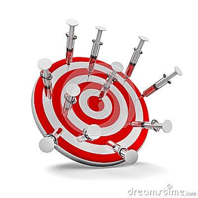 Target syringes