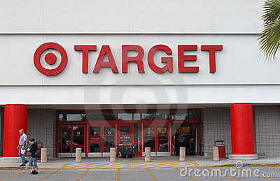 Target to lay off employees Editorial Stock Photo