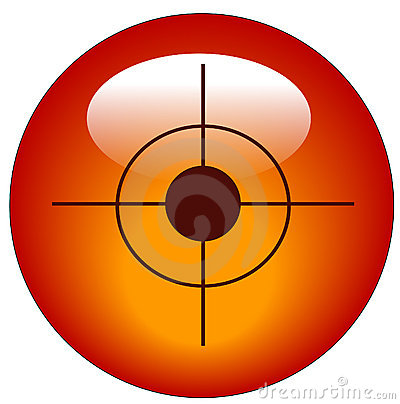 Target web icon or button