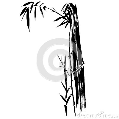 TARGET1009_1_ EPS bambusowa Sylwetka