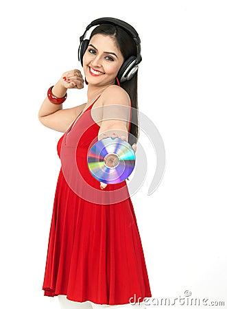 Target246_0_ muzyczna kobieta