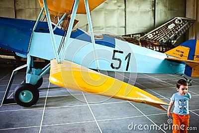 TARGET354_0_ dziecka muzeum Zdjęcie Editorial