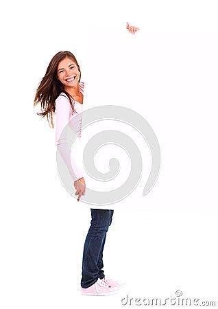 Target868_1_ szyldowej kobiety