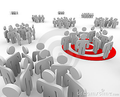Targeting a Group of People