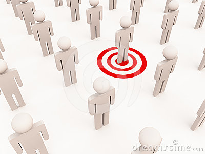 Targeting one individual