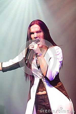 Tarja Turunen ex nightwish singer Editorial Photo