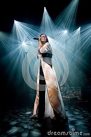 Tarja Turunen ex nightwish singer Editorial Stock Photo