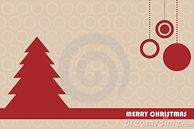 Tarjeta de felicitación de la Navidad