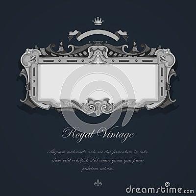 Tarjeta de felicitación del vintage