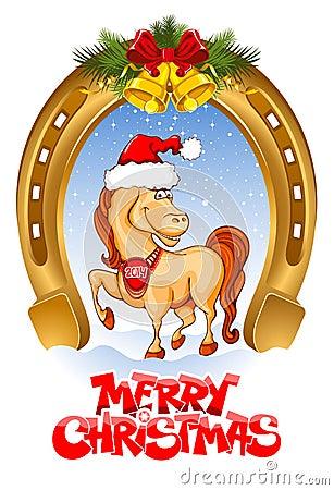 Tarjeta de la Feliz Navidad