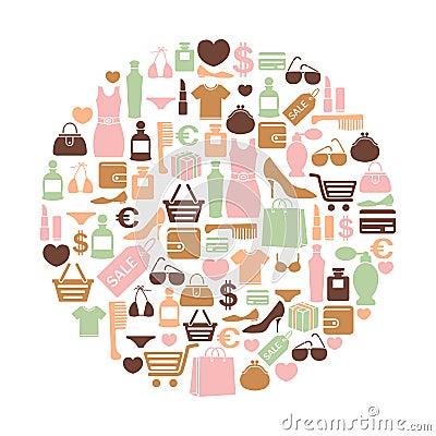 Tarjeta de las compras