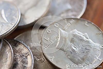 Tarnish Silver Coins