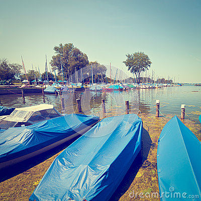 Tarpaulin covers for Design hotel chiemsee