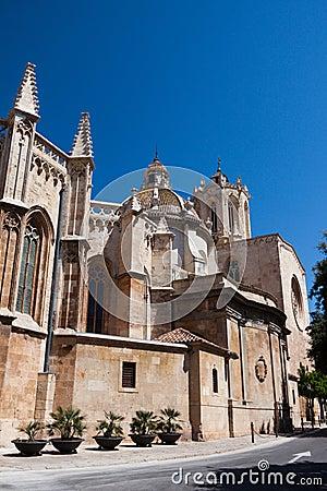 Tarragona cathedral in Spain