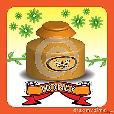 Tarro de la miel