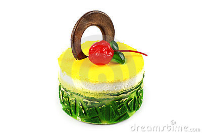 Tart cake Stock Photo