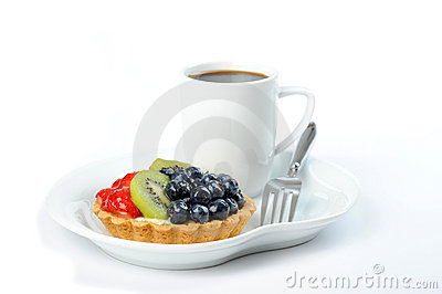 Tart with Fruit