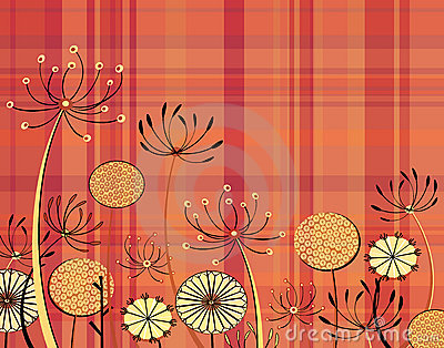 Tartan flowers