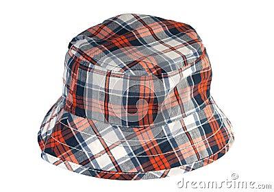 Tartan summer hat