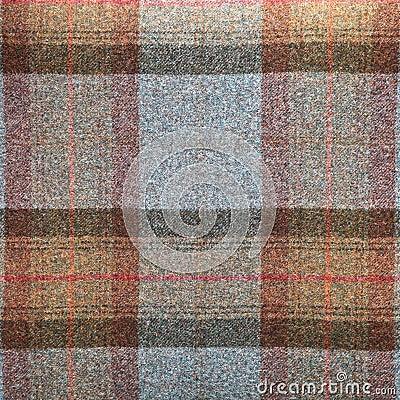Tartan wool