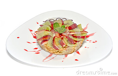 Tarte de fruit