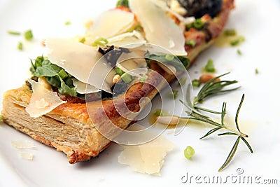 Tarte fine aux food