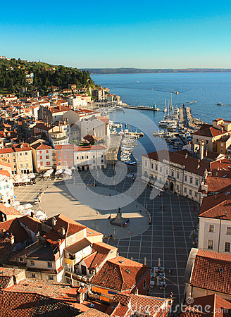 The Tartini Square in Piran