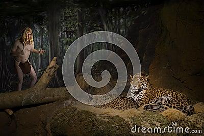 Tarzan, Ape Man, King of Jungle, Big Cat