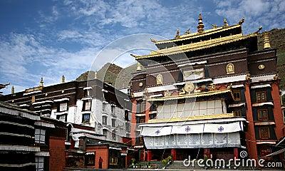 Tashilhunpo temple, Tibet buddhism temple