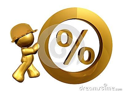 Tasso di interesse zero delle percentuali