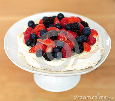 Taste yummy dessert