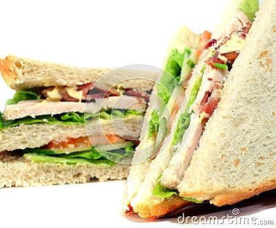 Tasteful club sandwich