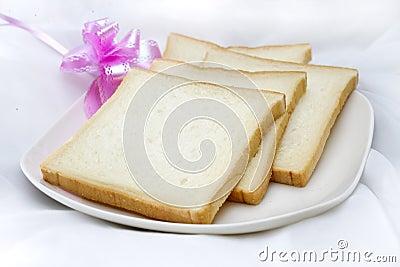 Tasteless bread