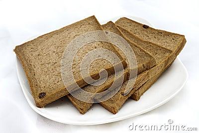 Tasteless chocolate bread