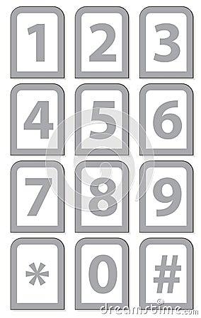 Tastiera del telefono di numero immagine stock libera da - Numero di telefono piscina ortacesus ...
