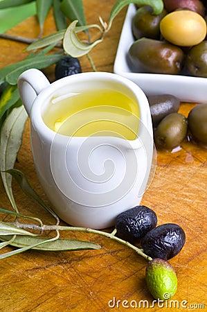 Tasting olive oil