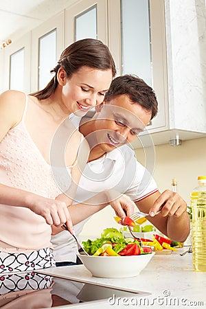 Tasting salad