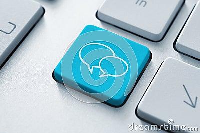Tasto sociale di media