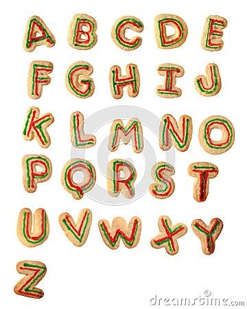 Free Tasty Alphabet Royalty Free Stock Photography - 11589557