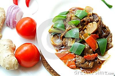 Tasty Black Pepper Beef