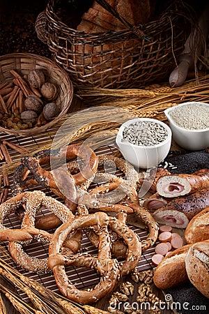 Tasty fresh pretzels
