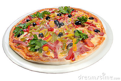 Tasty Italian pizza.Neapolitan,Close-up