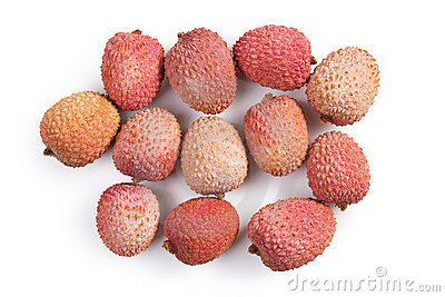 Tasty litchi fruit