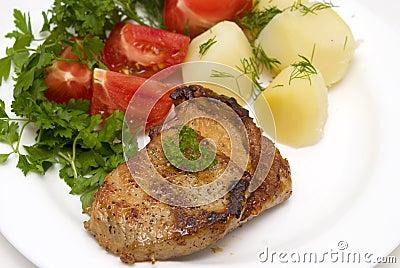 Tasty meat