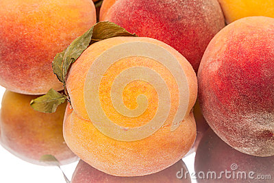 Tasty peaches