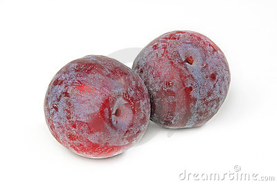 The tasty plums