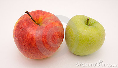 Tasty Red and Green Apples