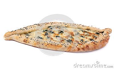 Tasty Turkish pizza