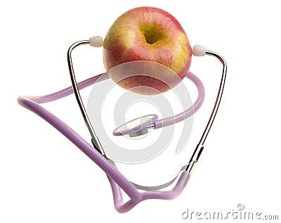 Tasty and useful apple