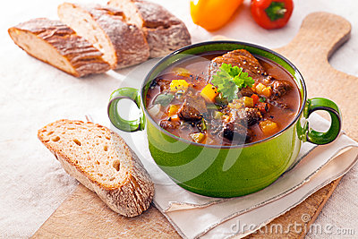Tasty winter stew